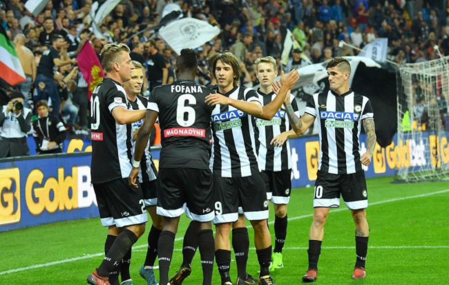 Amichevole Udinese Hannover