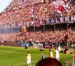 Colloquio ultras salernitana giocatori