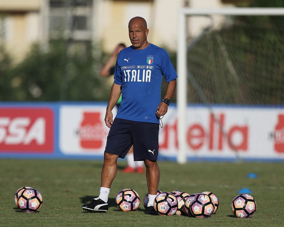 Italia Under 21 infortunio Favilli Di Biagio