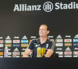 Conferenza Allegri Sampdoria - Juventus