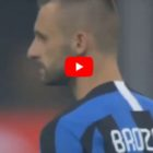 Milan – Inter 0-1, Brozovic porta in vantaggio i nerazzurri [VIDEO]