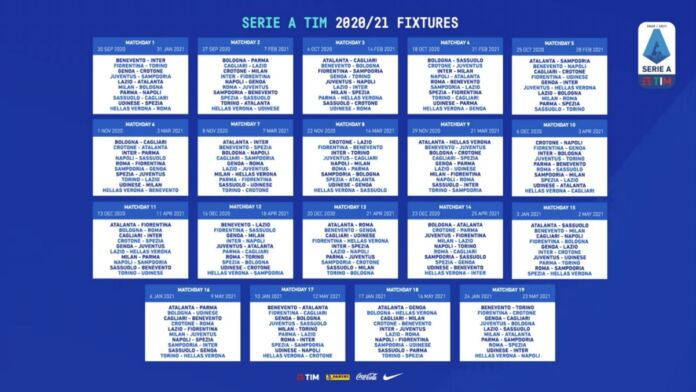 Calendario Serie A 2020/2021: date, risultati e classifica